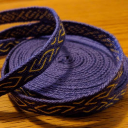 purple and yellow trim